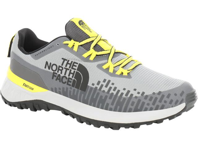 The North Face Ultra Traction FutureLight Schoenen Heren, grijs/geel